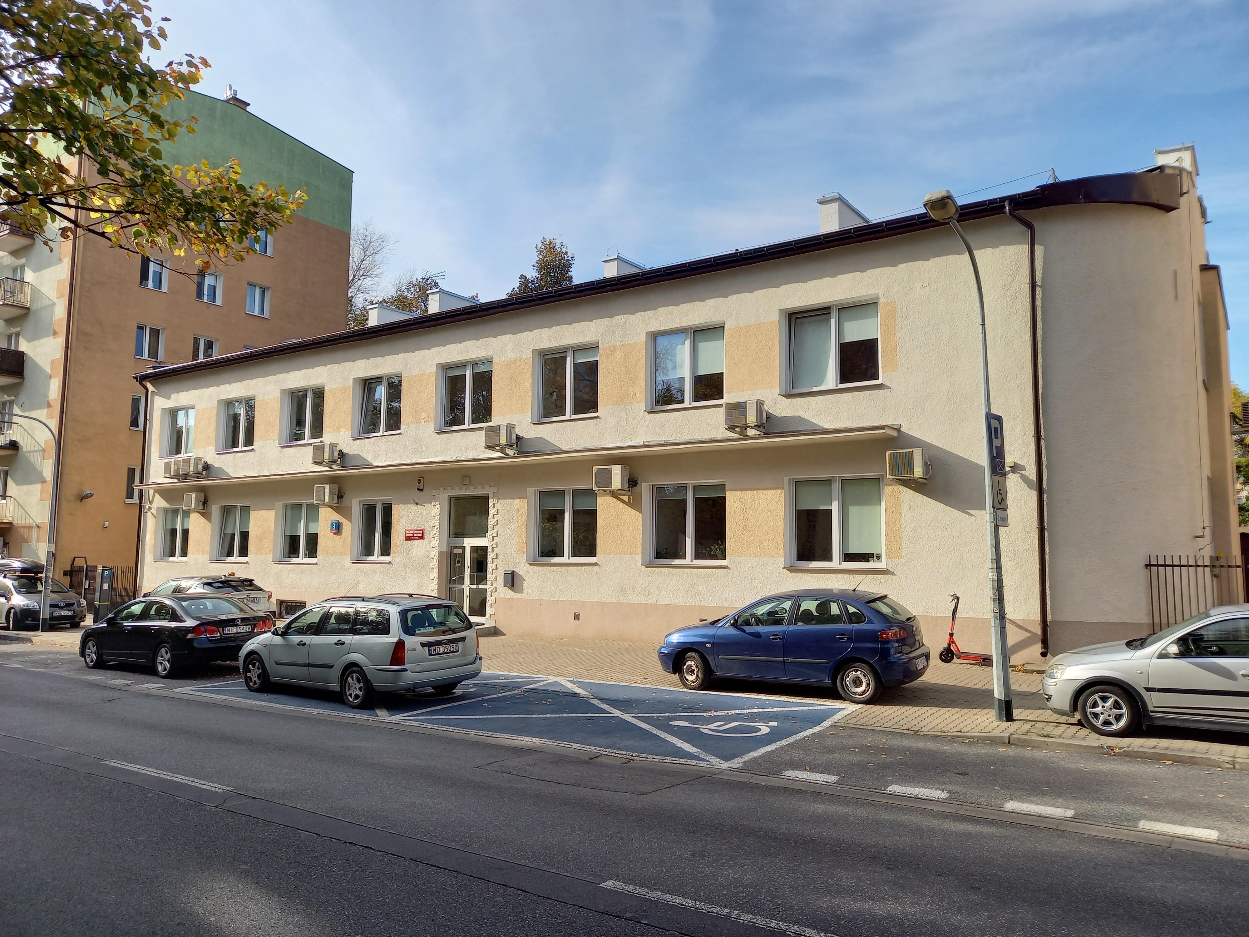 Siedziba Krajowego Centrum Hodowli Zwierząt w Warszawie